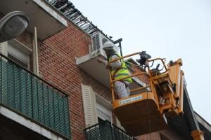 Arreglo de terrazas en PREI